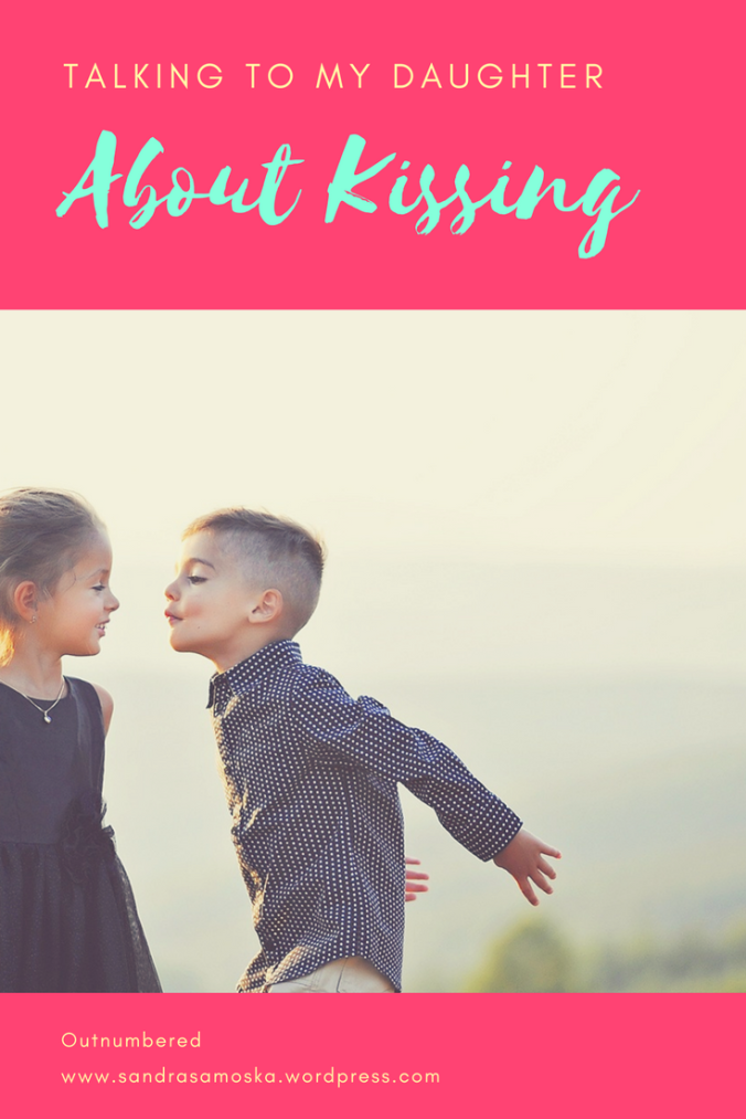 what to tell young children about kissing