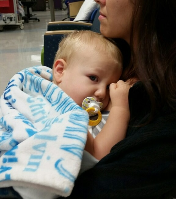 sick kids at the hospital